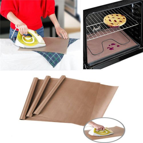 EatingBiting(R)3 Pack PTFE 16x24 inch Teflon Sheet Mat Heat Press Craft Transfer Sheet Non Stick