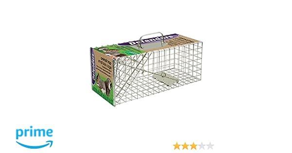 Defenders Animal Trap Cage - (Trampa humana fácil de colocar para ...