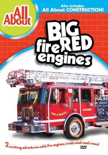DVD : All About Fire Engines & All About Construction (DVD)