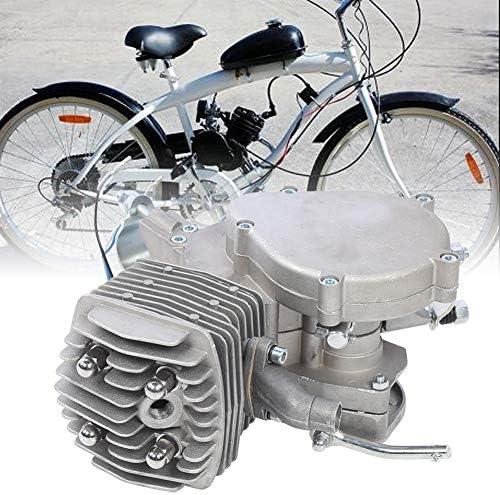 Jarchii Motor de Bicicleta, 3.5Kw/6000Rpm Máxima Pieza de Mano Motor de Gasolina de 2 Tiempos 80CC Cilindro de Aire Accesorio de Motor de combustión Interna para Bicicleta eléctrica: Amazon.es: Hogar