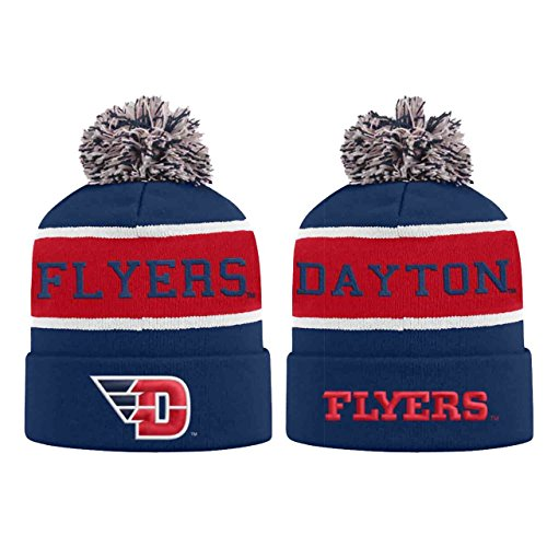(Top of the World Dayton Flyers Adult NCAA Radius Knit Beanie - Team Color,)