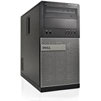 Dell 990 Tower - Intel i3 3.3GHz, 320GB HDD, 4GB DDR3, Windows 7 Pro 64-Bit, Dispay Port, WiFi (Certified Refurbished)
