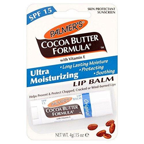 Palmer's Cocoa Butter Formula Moisturizing Lip Balm with Vitamin E & SPF 15 - Pack of 2 by (Balm Formula)