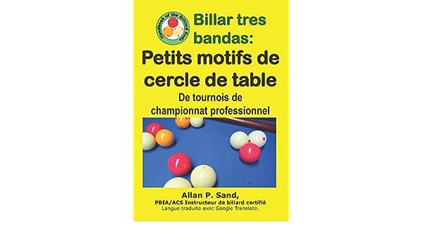 Billar tres bandas - Petits motifs de cercle de table: De tournois ...