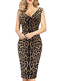 Amazon.com: Animal Print - Dresses / Clothing: Clothing, Shoes ...