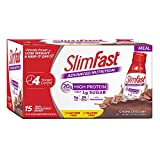 SlimFast Advanced Creamy Chocolate Ready to Drink Shakes (15 pk.)… For Sale
