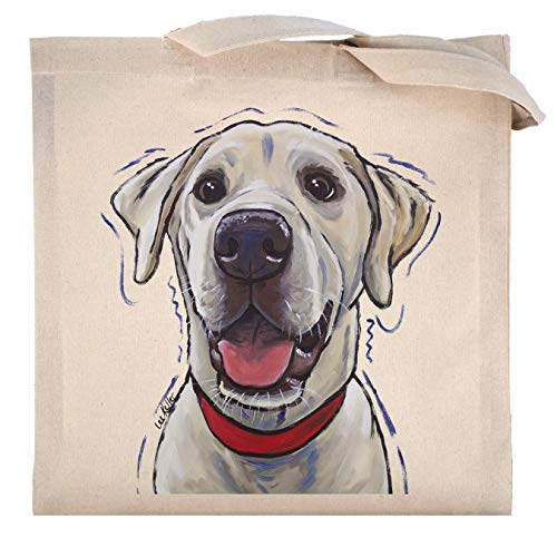 Yellow Lab Tote Bag, Labrador Retriever Tote Bag ()