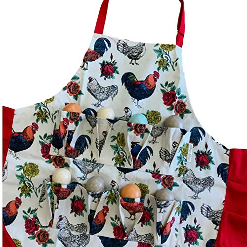 chicken apron for girls - 6