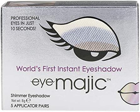 Eye Majic - Sombra de ojos instantánea - Maquillaje profesional en 10 segundos - Pack de 5 - Moody Blue - 017: Amazon.es: Belleza