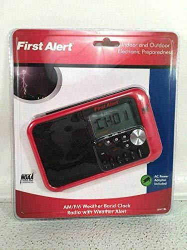 PHOENIX FINDS TREASURES First Alert Digital Tuning AM FM Weather Band Clock Radio Model SFA1100