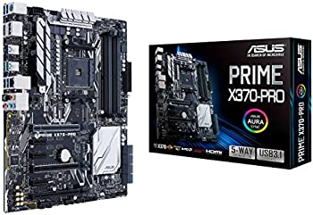 ASUS Prime X370-Pro AM4 AMD X370 SATA 6Gb/s Motherboards