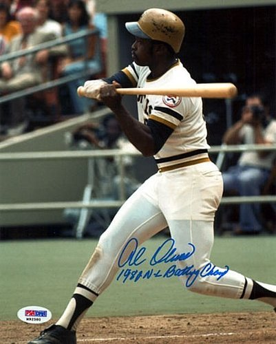 Al Oliver Signed 8x10 Photograph Pittsburgh Pirates 1982 NL Batting Champ - Certified Genuine Autograph By PSA/DNA - Autographed - 1982 Batting Nl