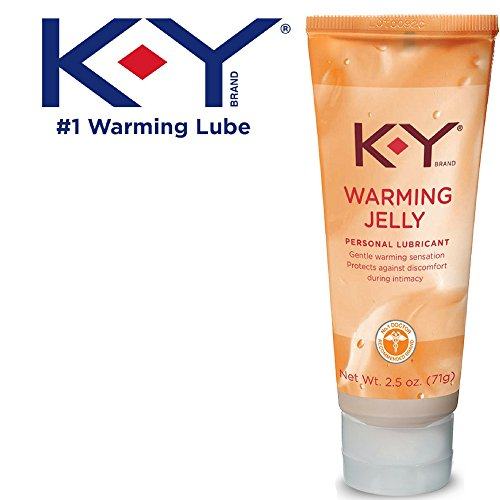 (K-Y Warming Jelly Personal Lubricant (2.5 oz), Premium Non-Greasy Warming Lube For Women, Men & Couples)
