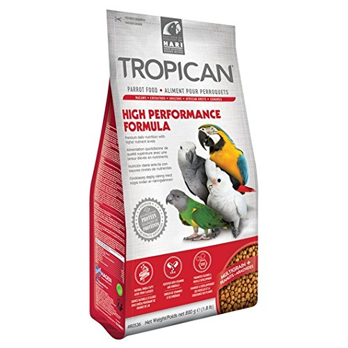 80536 Tropican High Performance Weaning, Parrot, 1.8-Pound