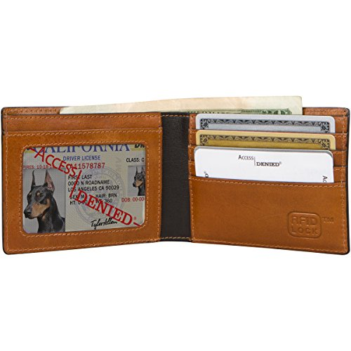 Access Denied Mens Leather Wallet