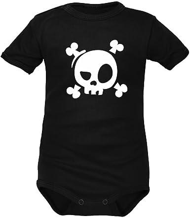 Body-bébé tête de mort 6
