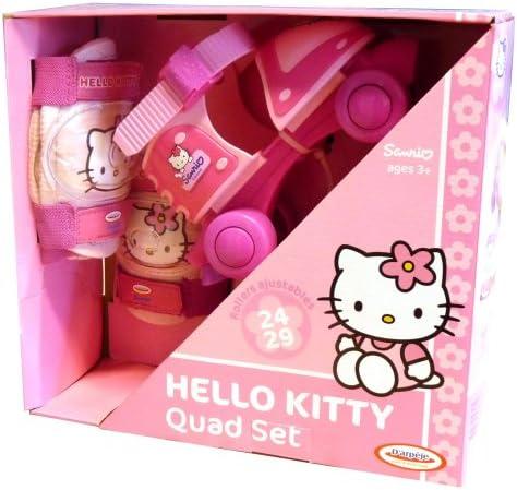 D'Arpeje OHKY19 - Hello Kitty Baby Quads mit Schutz, Größe 24-29