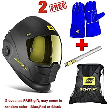Esab SENTINEL A50 Auto Darkening Welding Helmet - BIG PROMO! - BUY ONE GET TWO: Gloves and Soapstone