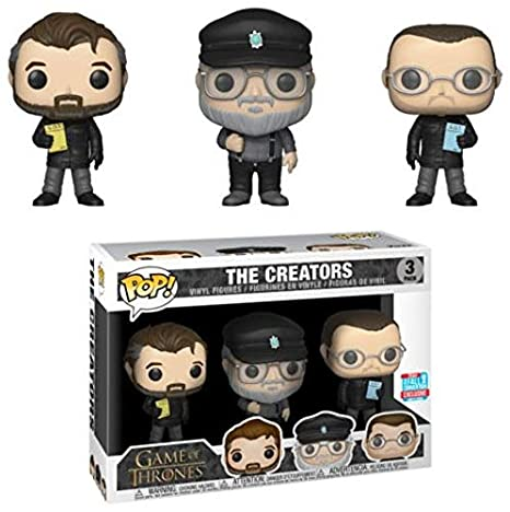 Nycc The Pack Funko Game Thrones Exclusive Creators 2018 3 Of Pop 9beEIY2DHW