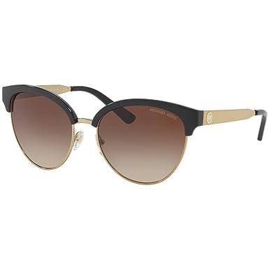 Michael Kors Mujer Amalfi 330513 56 Gafas de sol, Negro ...