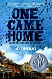 One Came Home (Newbery Medal - Honors Title(s))