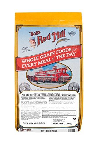 Bob's Red Mill Creamy Wheat Farina Hot Cereal, 25 Pound