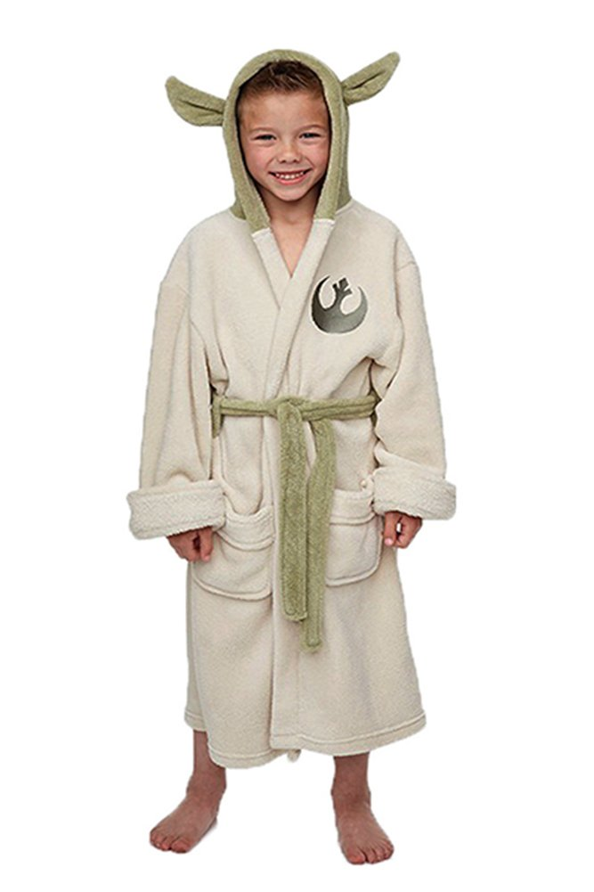 Groovy Uk Kids Star Wars Yoda Bathrobe Small (4-5yrs) 26410