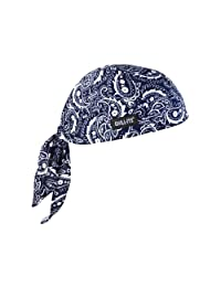 Chill-Its 6615 Absorptive Moisture-Wicking Dew Rag, Navy Western