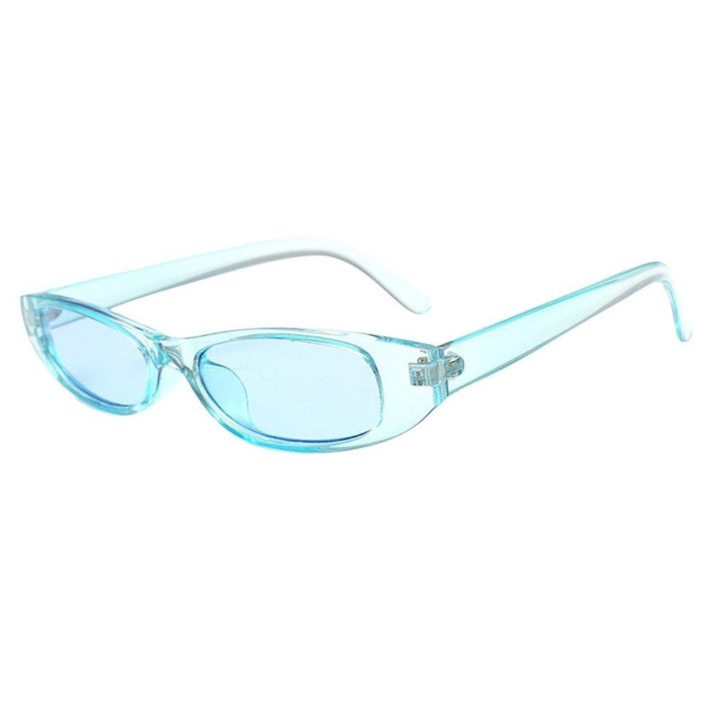 Sunglasses for Women Michael Kors Retro Unisex Rapper Oval Shades Grunge Eyewear