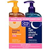 Clean & Clear Day/Night Cleanser 2-Pack