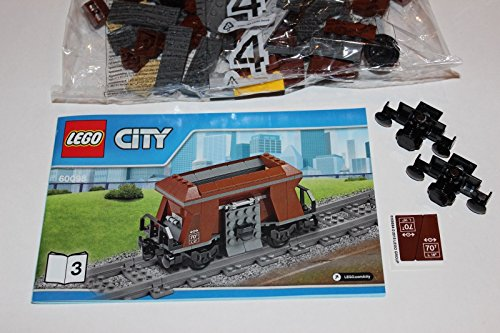 LEGO City Heavy Haul Train-60098-Brown Hopper Wagon Only Book 3