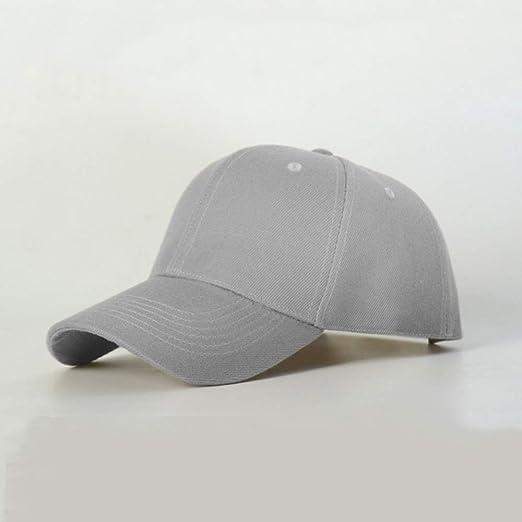 woyaochudan Sombrero Gorra de béisbol Cuerpo Ligero Cuerpo sólido ...