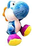 New Super Mario Bros. Wii 6 Inch Plush LightBlue Yoshi