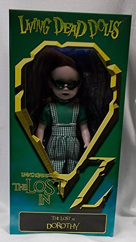 Living Dead Dolls - The Lost In OZ Exclusive Emerald City Variant - The Lost as Dorothy Variant - Exclusive Living Dead Dolls