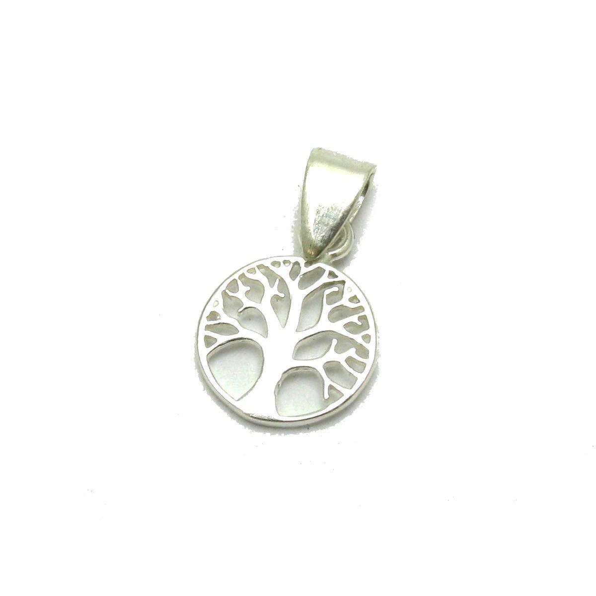 Silber Anhä nger 925 Baum des Lebens PE001208