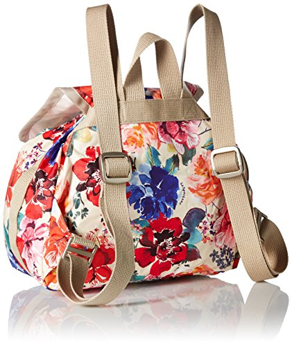 Romantics Cream LeSportsac Drawstring Voyager Backpack Mini Essential RBUBqwpfac