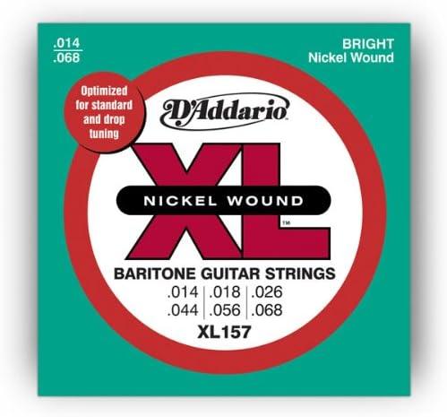DAddario XL157 XL Nickel Wound Baritone: Amazon.es: Electrónica