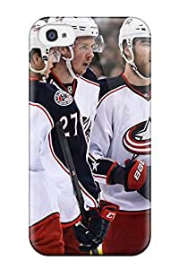 7348517K414249542 columbus blue jackets hockey nhl (4) NHL Sports & Colleges fashionable iPhone 4/4s cases