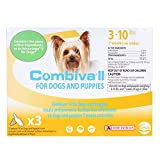 CEVA Animal Health D93130B Combiva II for Small Dogs 3-10 lbs. (3 Pack) Pet Flea Drops