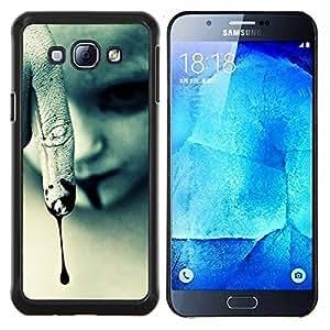 """S-type Vampiro de Halloween oscuro gótico"""" - Arte & diseño plástico duro Fundas Cover Cubre Hard Case Cover For Samsung Galaxy A8 ( A8000 )"""
