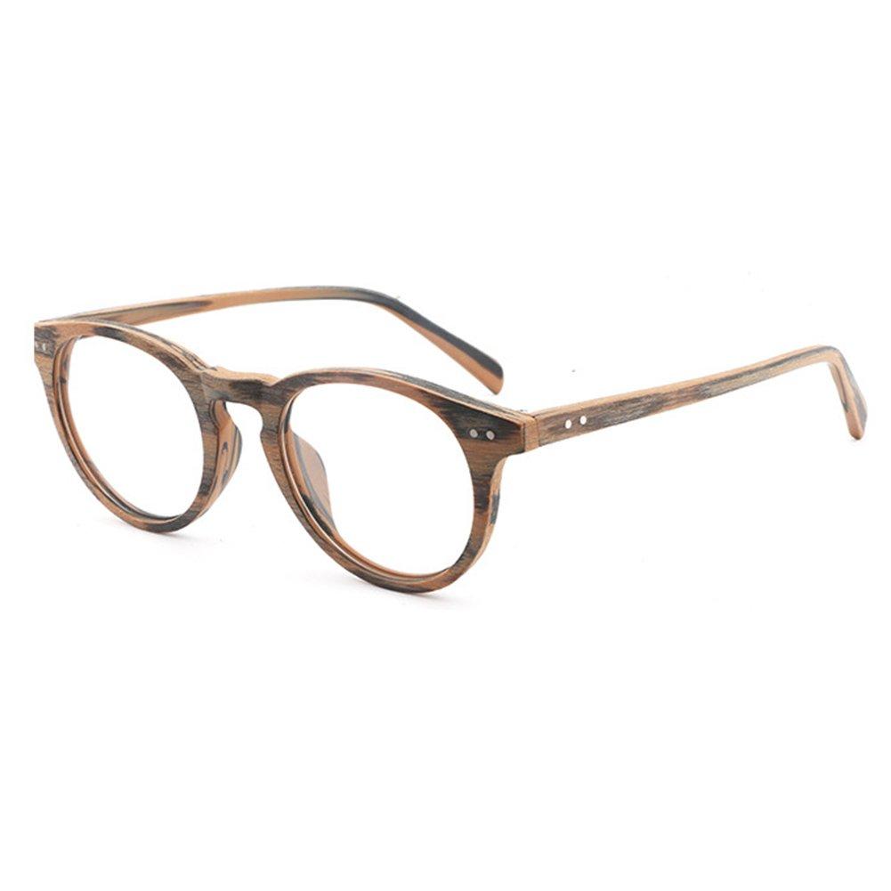 Hibote Occhiali da donna - Occhiali da vista trasparenti - Occhiali da vista in legno 122913 X171229YJJ1301-X