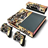 EBTY-Dreams Inc. - Microsoft Xbox One - Fairy Tail Anime Guild Natsu Dragneel, Erza Scarlet, Gray Fullbuster, Lucy Heartfilia, Wendy Marvell, Gajeel Redfox Vinyl Skin Sticker Decal Protector