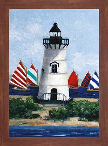 Brandt Point Lighthouse by Sally Swatland - 25