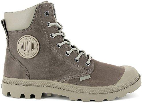 Palladium Unisex Pampa Cuff WP Lux Grau Stiefel Boots Größe 45