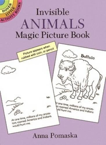 Magic Picture Book (Invisible Animals Magic Picture Book (Dover Little Activity Books))