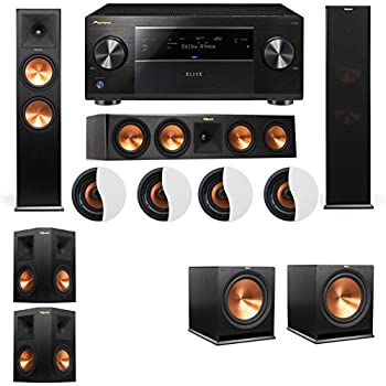 Amazon Com Dolby Atmos 5 2 4 Klipsch Rp 280f Tower