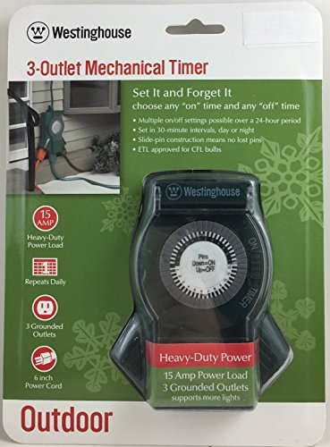 Westinghouse Outdoor Christmas Light Timer in US - 9