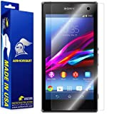 ArmorSuit MilitaryShield - Sony Xperia Z1 Screen Protector Anti-Bubble Ultra HD - Extreme Clarity & Touch Responsive Shield with Lifetime Free Replacements - Retail Packaging