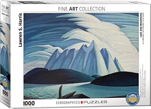 EuroGraphics Lake & Mountains Lawren Harris Puzzle (1000 Piece)