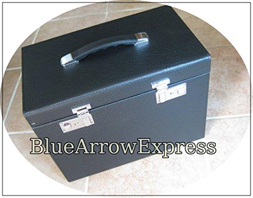 Singer Featherweight (Singer Featherweight 221 Sewing Machine Case Improved w/ Keys & Small Tray by BlueArrowExpress)